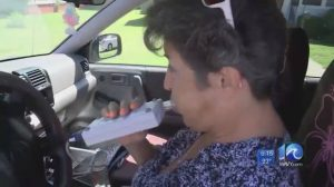Interlock device in car